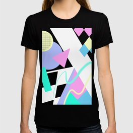 80s Retro Memphis Art Ugly Sweater T-shirt