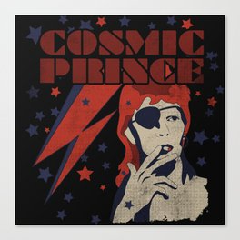 COSMIC PRINCE BLACK Canvas Print