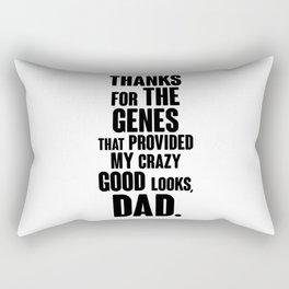 Thanks for the Genes Rectangular Pillow