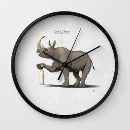 Cork it, Dürer! [HD] Wall Clock