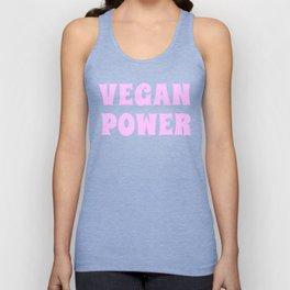 Vegan Power Vegetarian Workout Graphics Unisex Tank Top