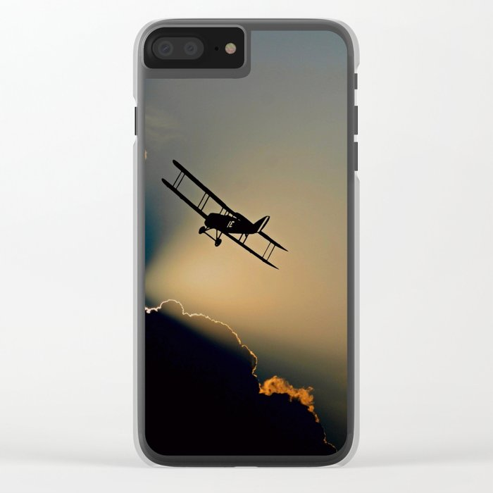 aircraft Clear iPhone Case