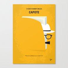 No671 My Capote minimal movie poster Canvas Print
