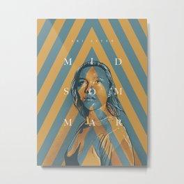 Midsommar Metal Print