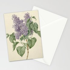 Lilac Botanical Print Stationery Cards