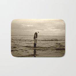 A Boy and The Sea Bath Mat