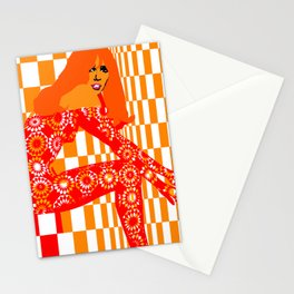 Mod - Red Stationery Cards