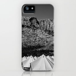montaigne sainte victoire iPhone Case
