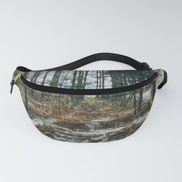 Sunlight through the forest Fanny Pack