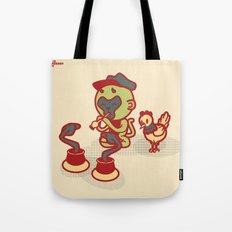 Snake Charmer Monkey Tote Bag