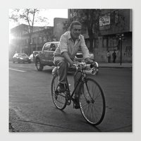 architect Canvas Prints featuring Architect Bicycle by The Missionary Photographer