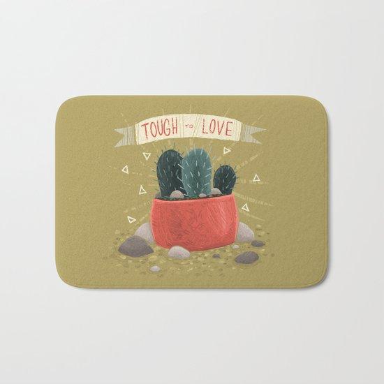 Cactus - TOUGH TO LOVE Bath Mat