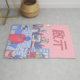 NEON ASIA PINK EDITION Rug