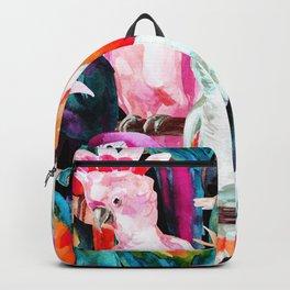 Exotic birdlife Backpack