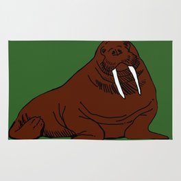 The august walrus Rug