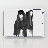 shinee iPad Cases featuring kaonashi (no face) by helenwidjaja