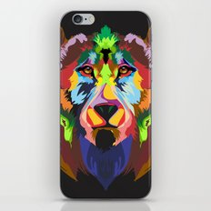 color bear iPhone Skin