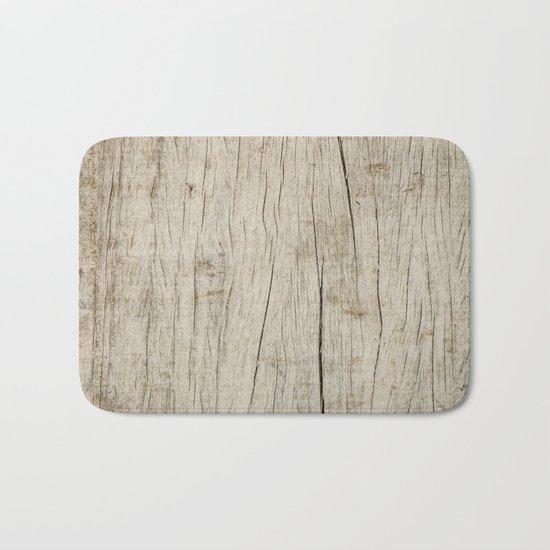 Old Wood Bath Mat