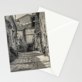 Mountain village Stationery Cards