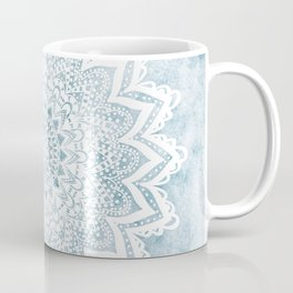 LIGHT BLUE MANDALA SAVANAH Coffee Mug