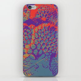 psychedelic beauty iPhone Skin