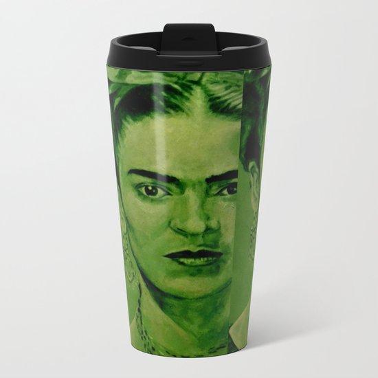 FRIDA 4u Metal Travel Mug