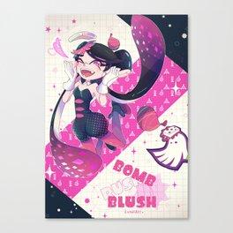 Bomb Rush Blush Canvas Print