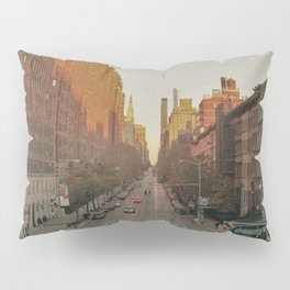The Yellow Muted City (Color) Pillow Sham