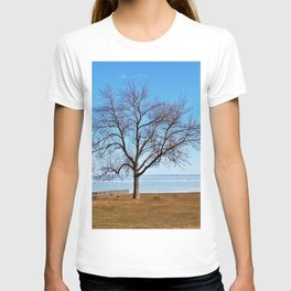The Tree by the Frozen Lake T-shirt