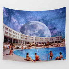 Summer in Space Wall Tapestry
