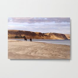 Riders on the Shore Metal Print