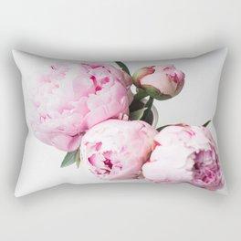 Pink Peonies 01 Rectangular Pillow