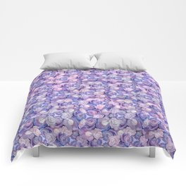 Botanical In Blue Comforters