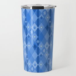 Blue Lily Bear Travel Mug
