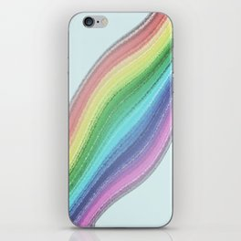 Rainbow Design  iPhone Skin