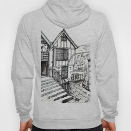 Traditional House in York, England Hoody