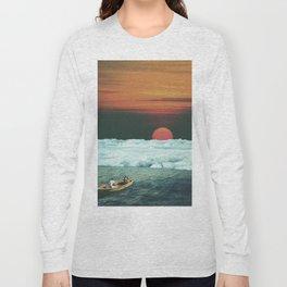 Meditation on Saturday Morning Long Sleeve T-shirt