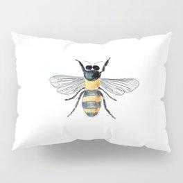 Bee Watercolor Pillow Sham