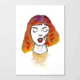 Autumn Chai Latte Canvas Print