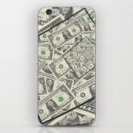 Dollar Bills Design iPhone Skin