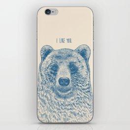 Bear (Ivory) iPhone Skin