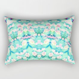 ARABESQUE SPRING MINT Rectangular Pillow