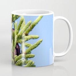 Watercolor Tree, Part, Spruce 04, RMNP, Colorado Coffee Mug