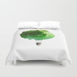 Iceberg Balloon Duvet Cover
