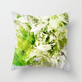 439 - Abstract drink design Throw Pillow