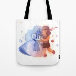 Sapphire and Ruby Tote Bag