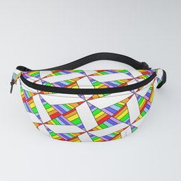 optical pattern 25 Fanny Pack