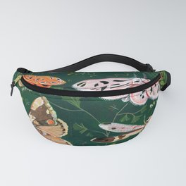 Moths and dragonfly Fanny Pack