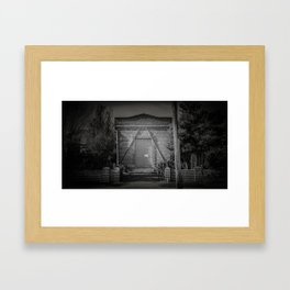 The Christchurch Electricity Substation Project XII Framed Art Print