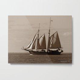Goellette Grosse Ile Metal Print